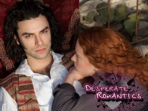Aidan Turner as Dante Rossetti; Amy Manson as Lizzie Siddal